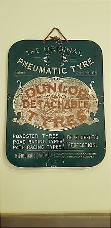 DUNLOP DETACHABLE TYRES - click to enlarge