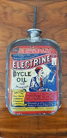 ELECTRINE CYCLE OIL - click to enlarge