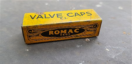 ROMAC VALVE CAPS - click to enlarge