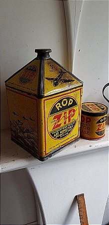 R.O.P. ZIP GALLON OIL CAN - click to enlarge