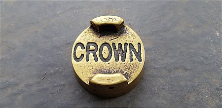 CROWN PETROL TWO GALLON CAN CAP. - click to enlarge