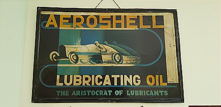 AEROSHELL SIGN - click to enlarge