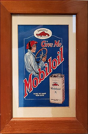 "MOBILOIL ""A"" ADVERTISING - click to enlarge"