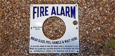 FIRE ALARM ENAMEL - click to enlarge