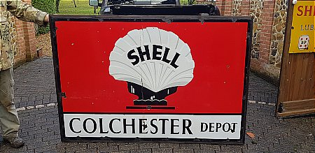 SHELL COLCHESTER DEPOT - click to enlarge