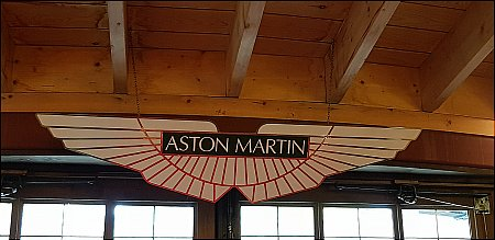 ASTON MARTIN DEALER SIGN. - click to enlarge