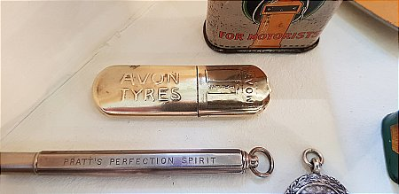 AVON TYRES PROMOTIONAL LIGHTER - click to enlarge
