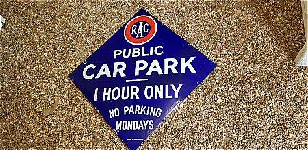 R.A.C. PUBLIC CAR PARK - click to enlarge