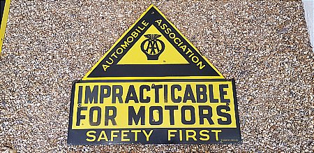 A.A. IMPRACTICABLE FOR MOTORS - click to enlarge