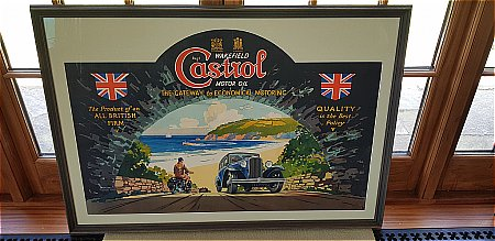 CASTROL 4ft x 3ft POSTER - click to enlarge
