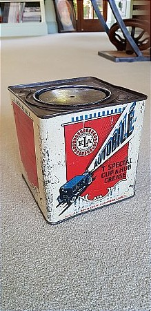 AUTOBILE 7LB GREASE TIN. - click to enlarge