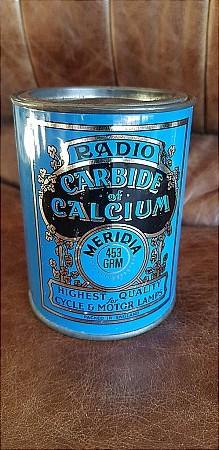 RADIO CARBIDE TIN. - click to enlarge