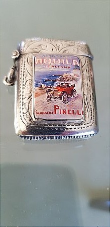 PIRELLI TYRES MATCH HOLDER - click to enlarge