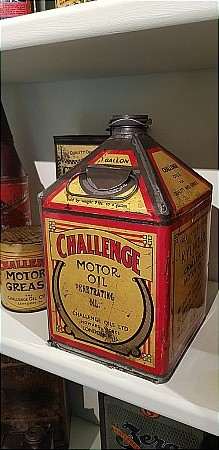 CHALLENGE GALLON OIL CAN - click to enlarge