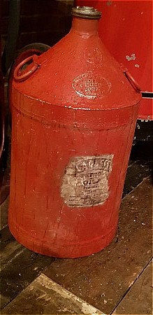 CARLESS 5 GALLON CAN - click to enlarge