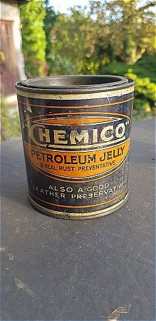 CHEMICO PETROLEUM JELLY - click to enlarge