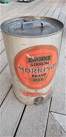 MORRISOL 5 GALLON CAN - click to enlarge