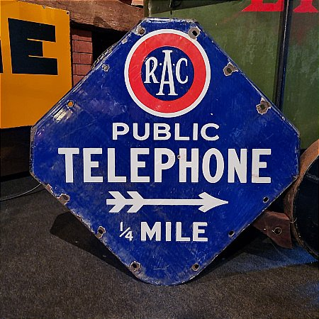 R.A.C. TELEPHONE QUARTER MILE - click to enlarge