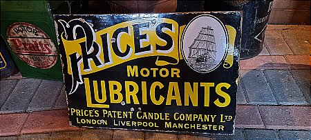 PRICES MOTOR LUBRICANTS - click to enlarge