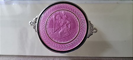 ST CHRISTOPHER DASHBOARD PLAQUE - click to enlarge
