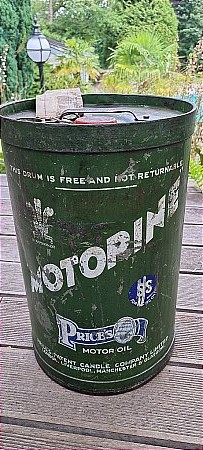 MOTORINE SS RACING OIL 5 GALLON - click to enlarge