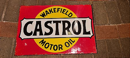 CASTROL OIL DOUBLE SIDED - click to enlarge
