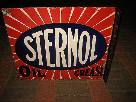 STERNOL OIL - click to enlarge