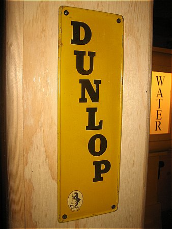 DUNLOP EARLY FINGERPLATE (TIN) - click to enlarge