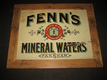 FENN'S MINERAL WATERS - click to enlarge