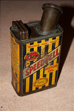 SPEEDWELL QUART OIL CAN - click to enlarge