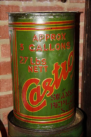 CASTROL  OIL  (3 Gallon)  - click to enlarge