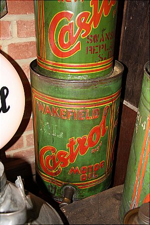 CASTROL  XL OIL (with tap)  (5 Gallon)  - click to enlarge