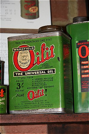 WAKEFIELD OILIT (Castrol) (Pint) - click to enlarge