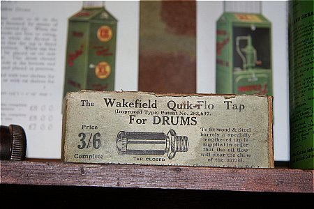 WAKEFIELD DRUM TAP - click to enlarge