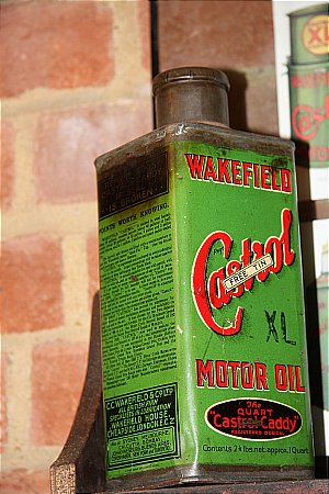 CASTROL (XL)  OIL - click to enlarge