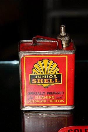 SHELL LIGHTER FLUID - click to enlarge