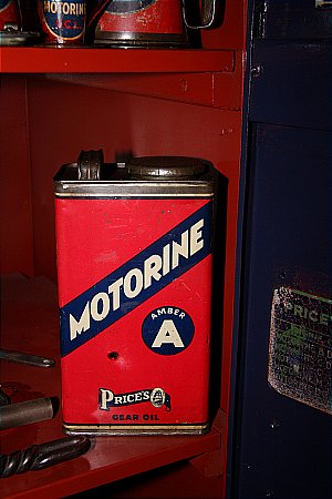 "PRICES MOTORINE ""A"" (Gallon) - click to enlarge"