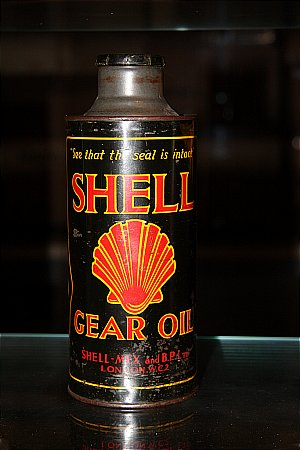 SHELL (Black) GEAR OIL (Quart) - click to enlarge