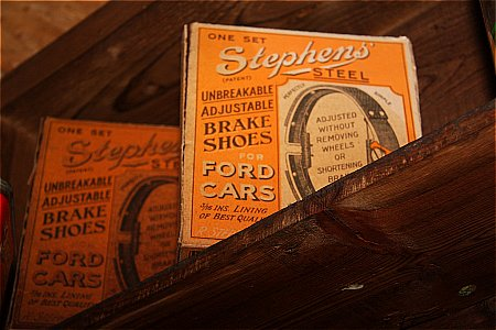 STEPHENS BRAKE SHOES - click to enlarge