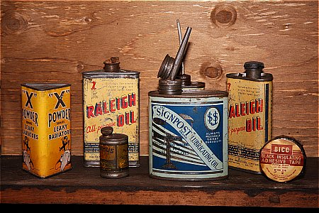RALEIGH OIL - click to enlarge