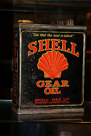 SHELL (Black) GEAR OIL (Half gallon) - click to enlarge