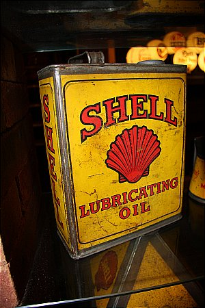 SHELL LUBRICATING OIL (Gallon)  - click to enlarge