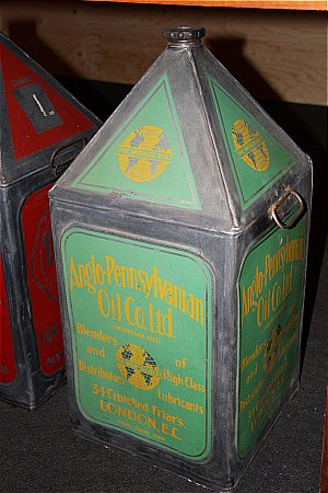 ANGLO PENNSYLVANIAN OIL (10 Gallon) - click to enlarge