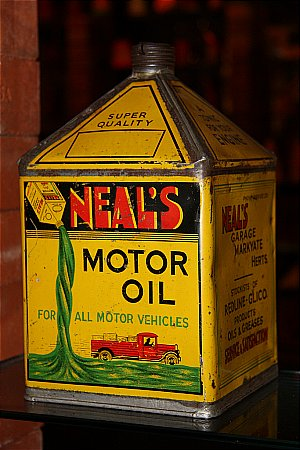 NEALS MOTOR OIL (Gallon) - click to enlarge