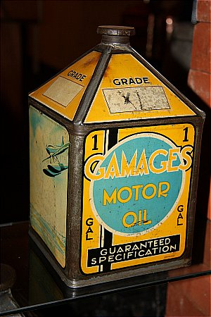 GAMAGES ONE GALLON - click to enlarge