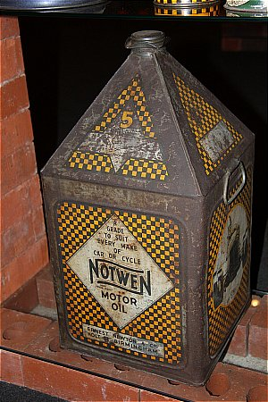 NOTWEEN OIL (5 Gallon) - click to enlarge