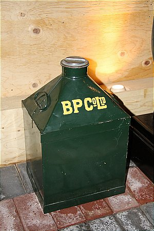 B.P. 5 GALLON CAN - click to enlarge