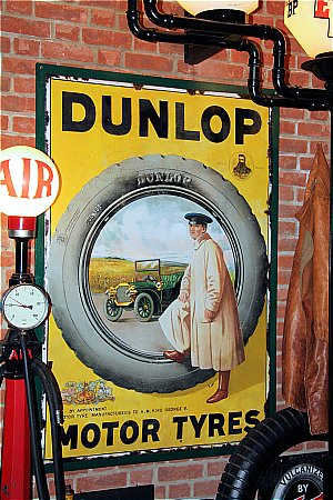 DUNLOP MOTOR TYRES - click to enlarge