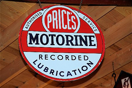 PRICES MOTORINE - click to enlarge