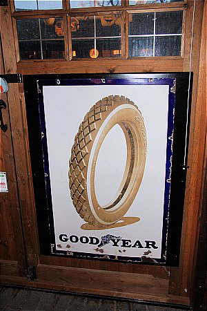 GOODYEAR EARLY TYRE - click to enlarge